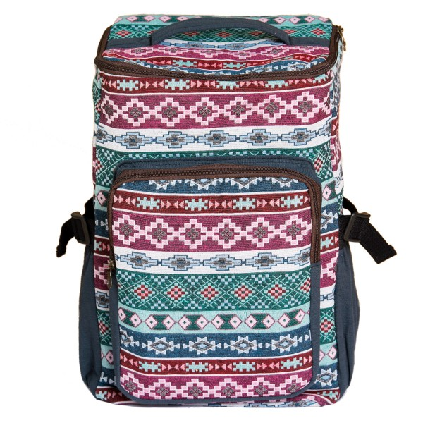 Backpack woven design