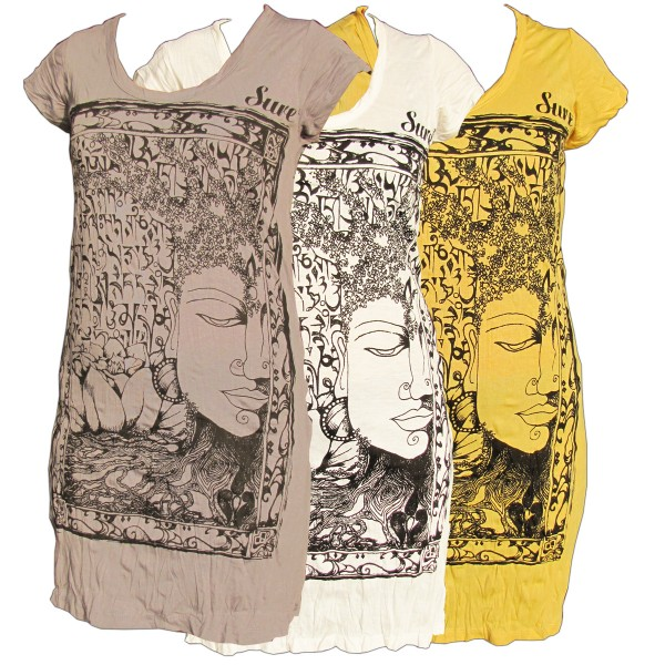 Sure Tunika vintage T-Shirt Buddha-Face