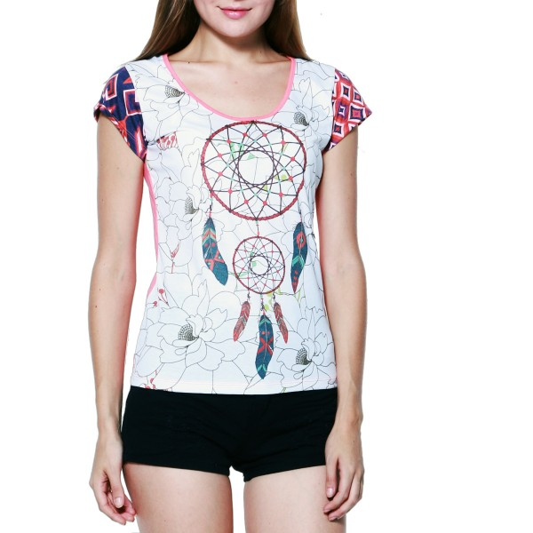 Damen T-shirt Dreamcatcher