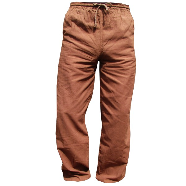 E-Pants simple cotton trousers